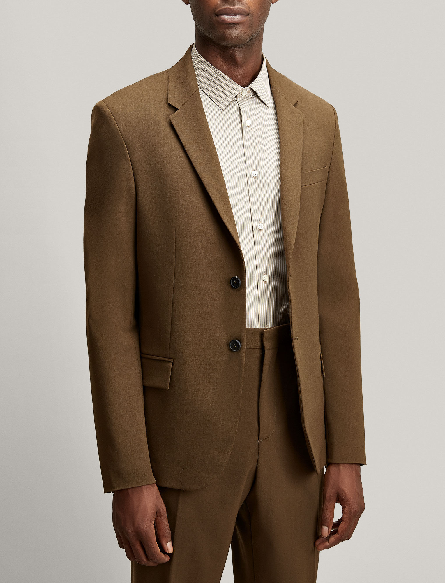 Joseph, Reading Techno Wool Stretch Jacket, in MILITARY