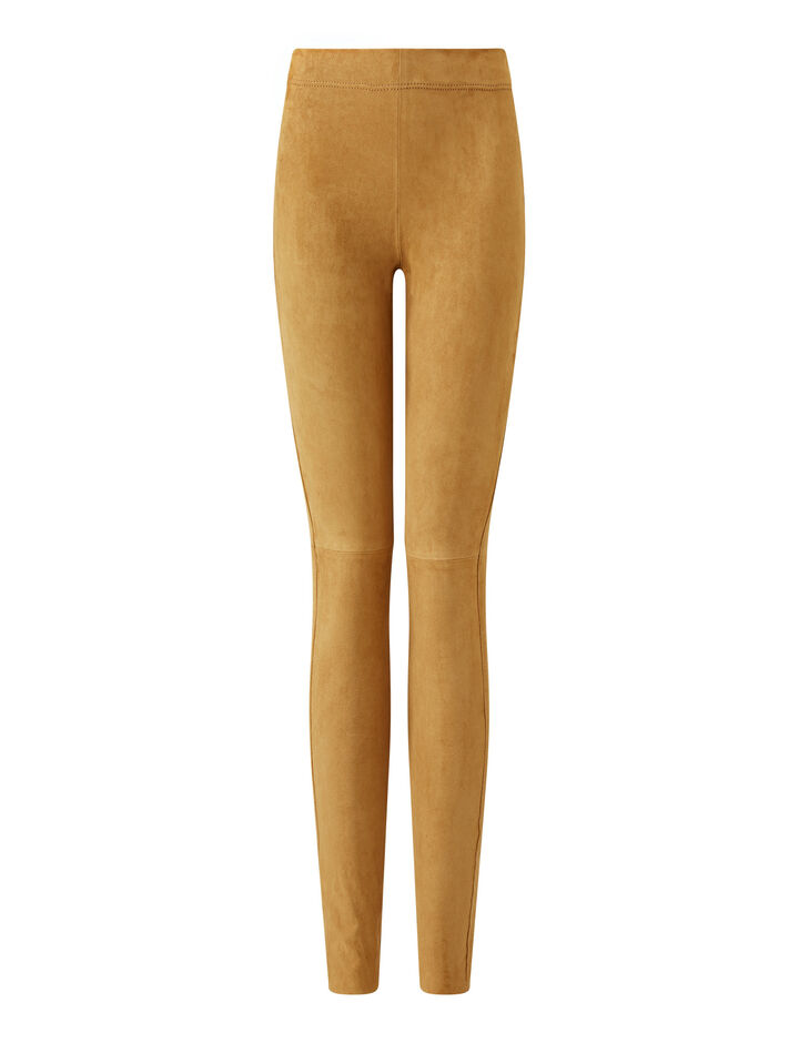Joseph, Legging-Suede Stretch, in TAN