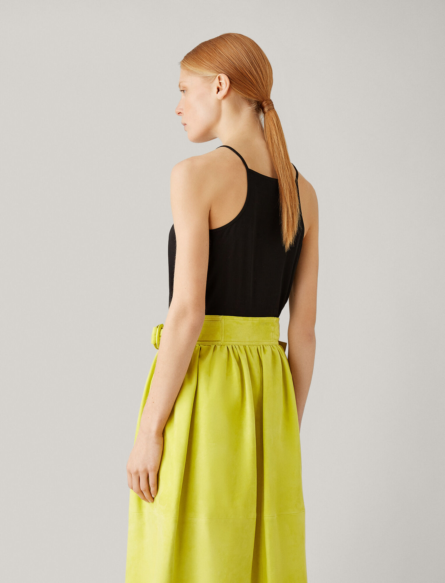 Joseph, Silk Jersey Camisole, in BLACK