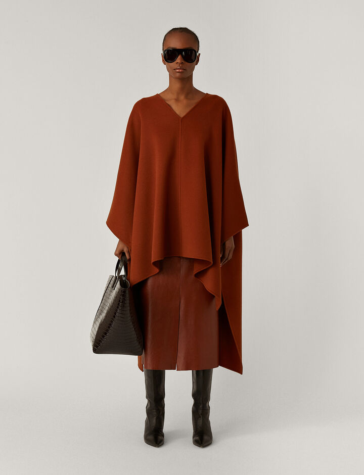 Joseph, Ciela Dbl Face Cashmere Coats, in Fox