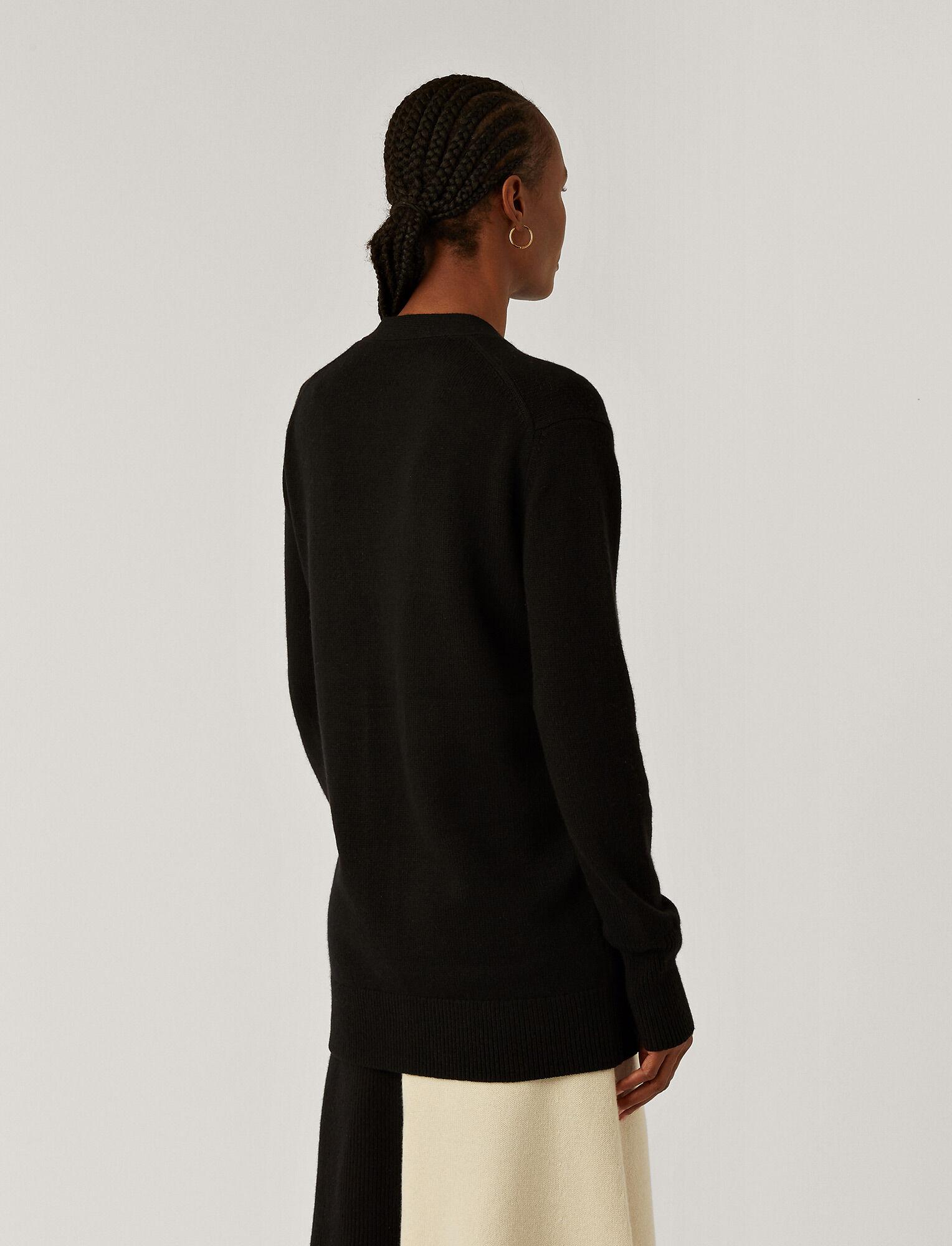 Joseph, Pure Cashmere Cardigan, in BLACK