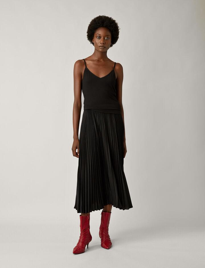 Joseph, Camisole Silk Jersey, in BLACK