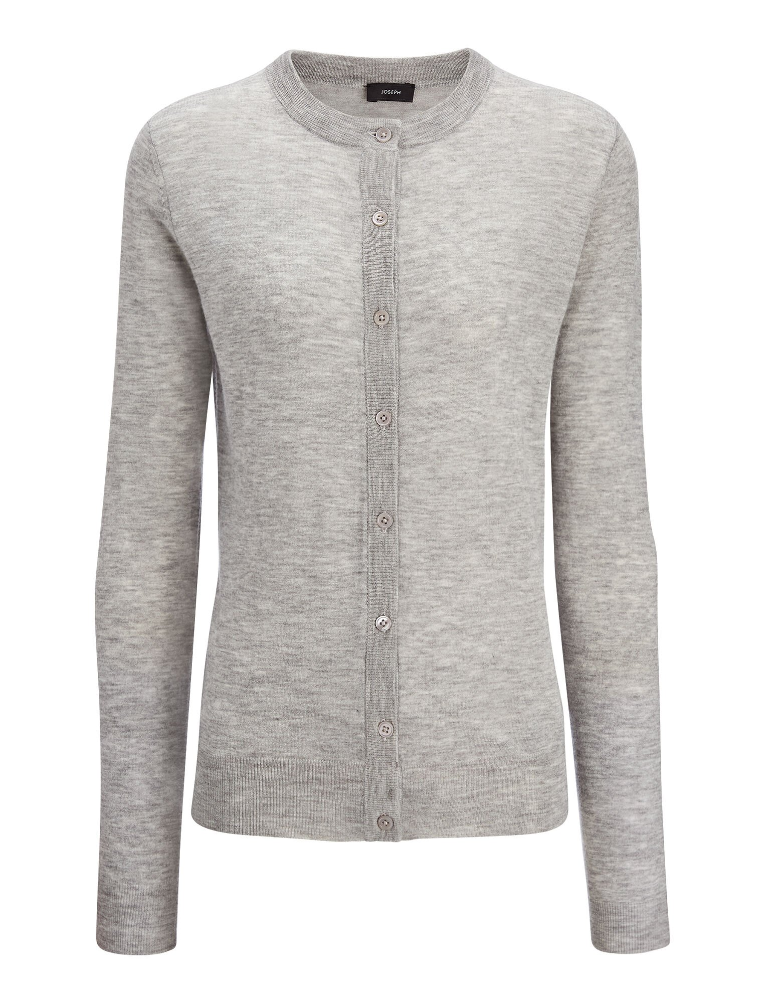 Joseph, Cashair Cardigan, in GREY CHINE