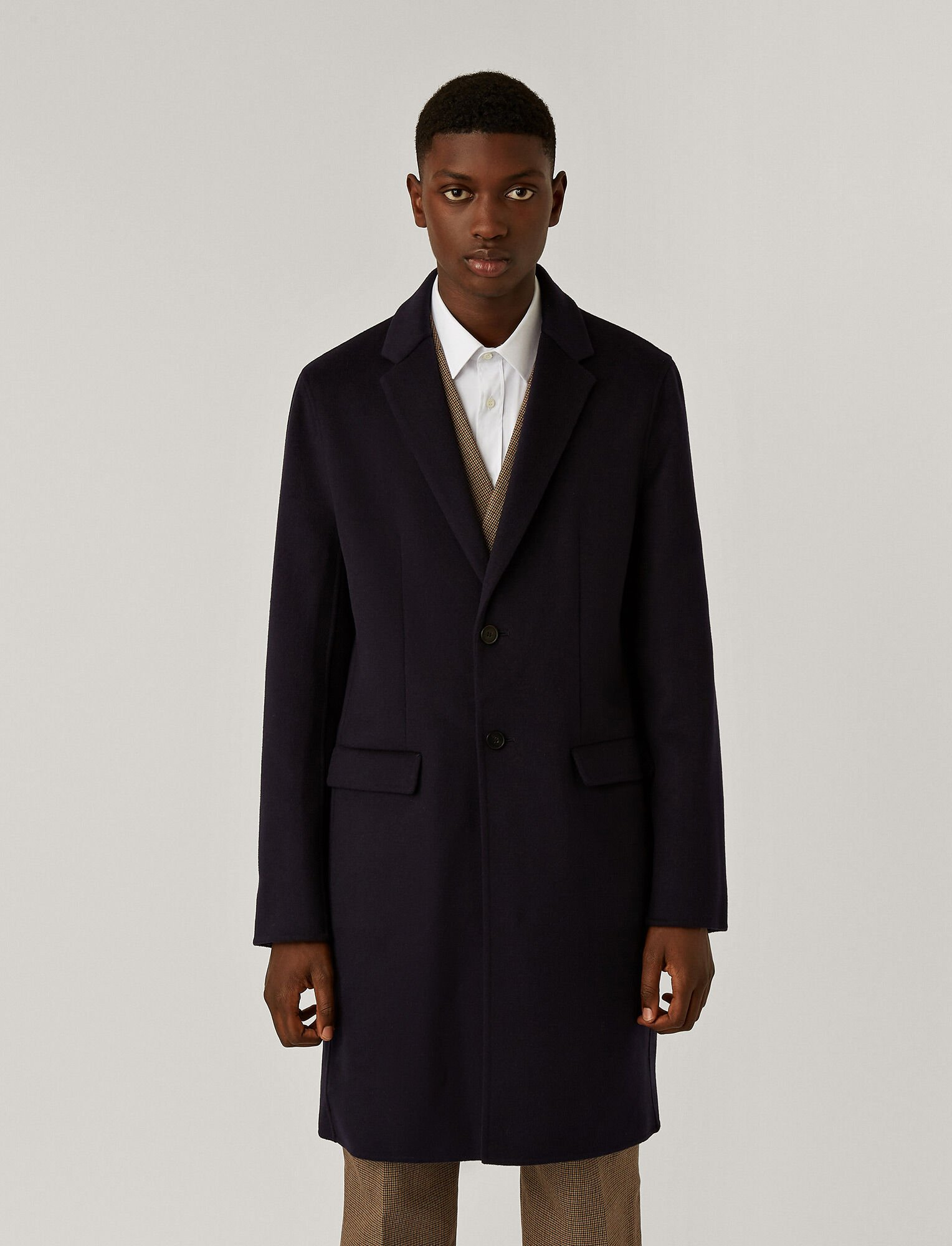 Joseph, Armand Double Face Cashmere Coat, in NAVY