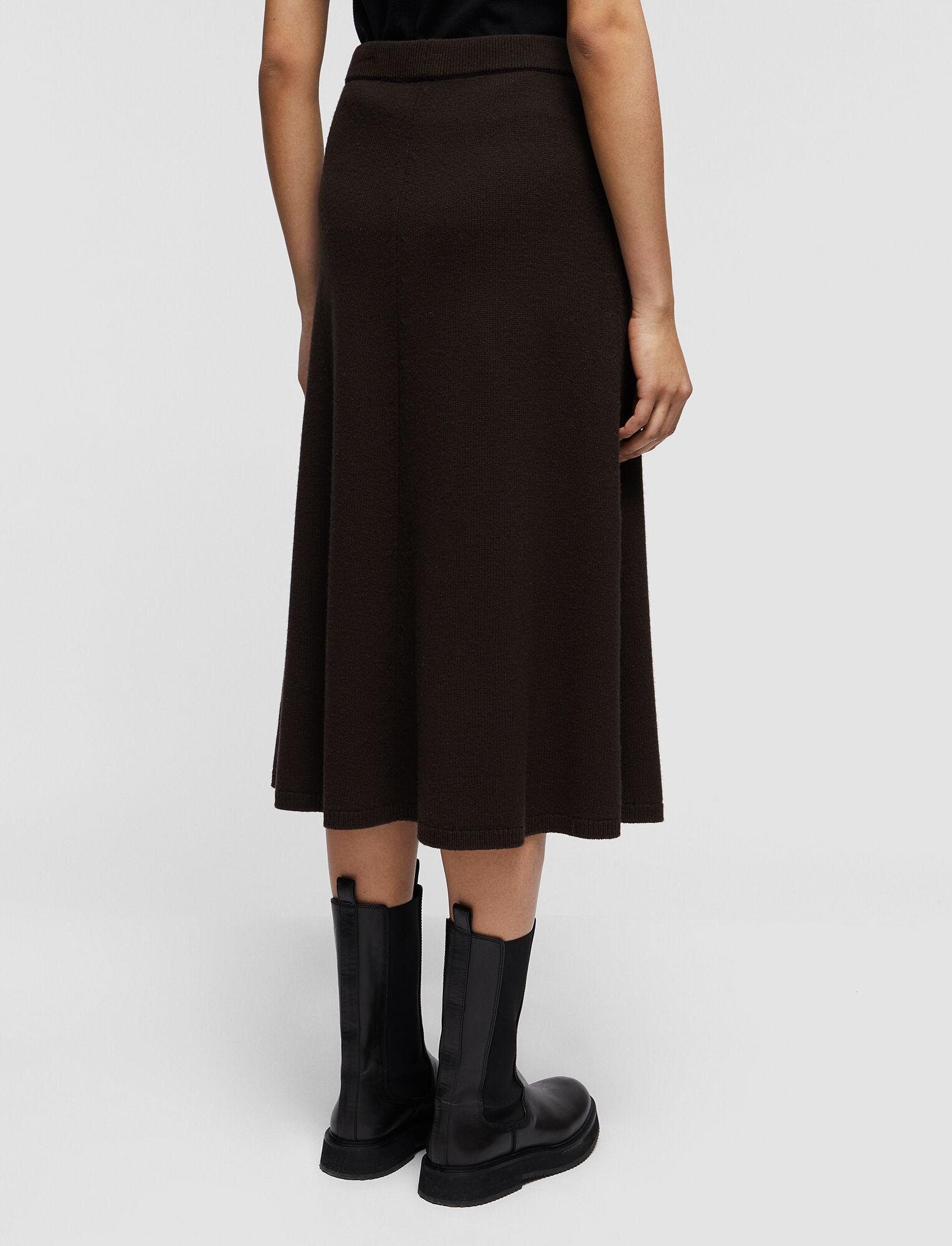 Joseph, Soft Wool Skirt, in JAVA
