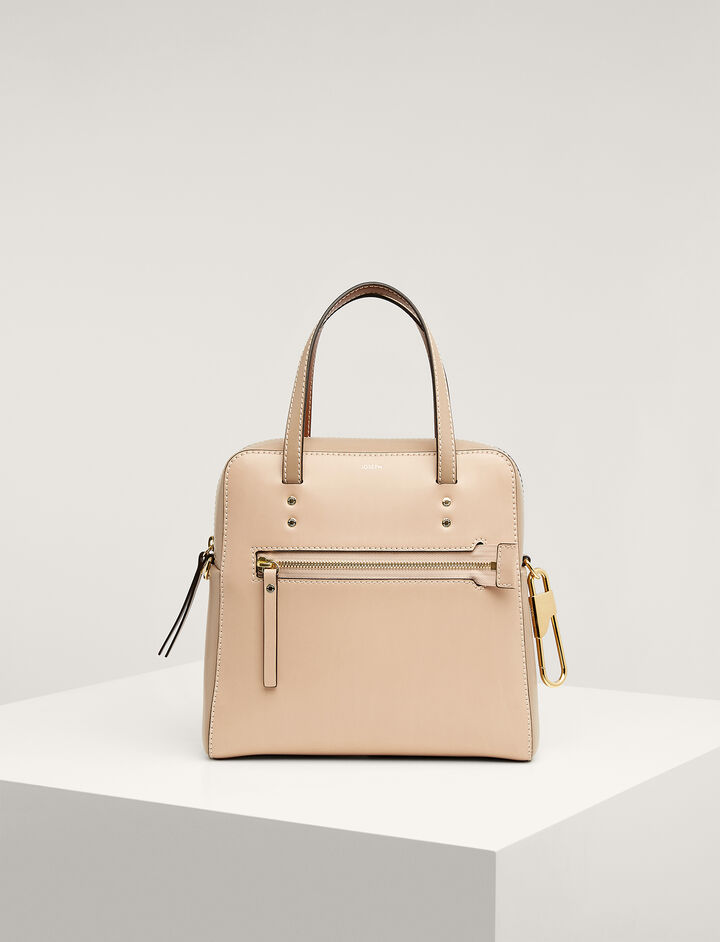 Joseph, Calf-leather Ryder Bag, in MULTICO BROWN