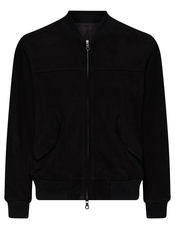 Joseph, Suede Jacket, in Black