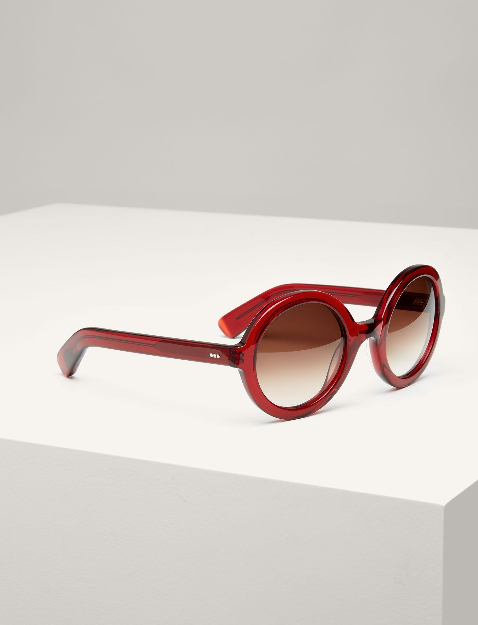 Joseph, Brook Sunglasses, in RUBY