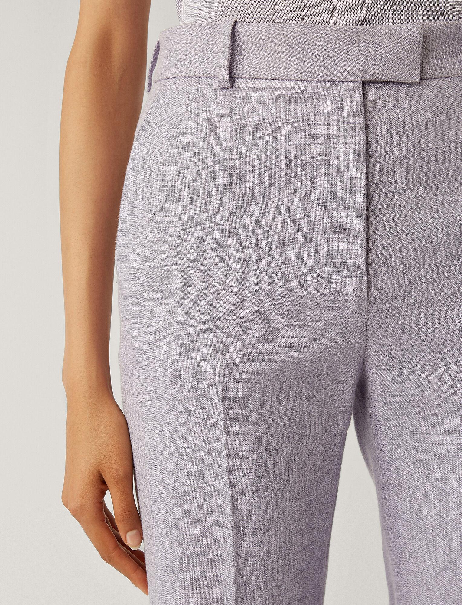 Joseph, Tena Shantung Linen Trousers, in PARME