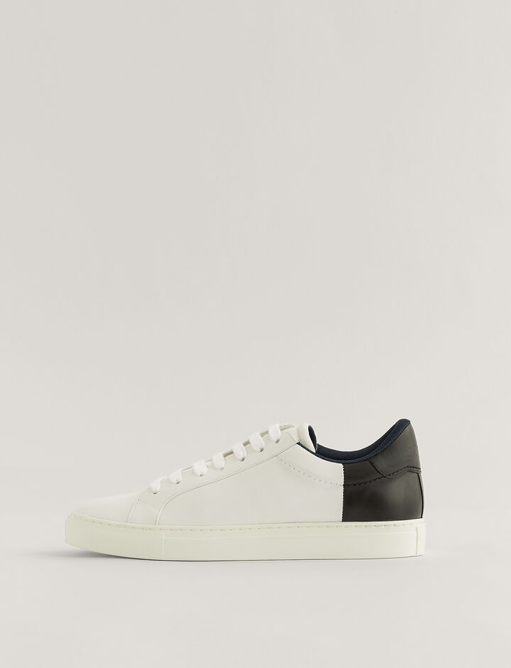Joseph, Trainers, in White/Black
