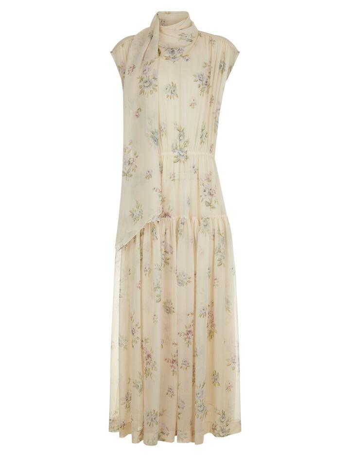 Joseph, Ines Vita Floral Dress, in MULTICOLOUR