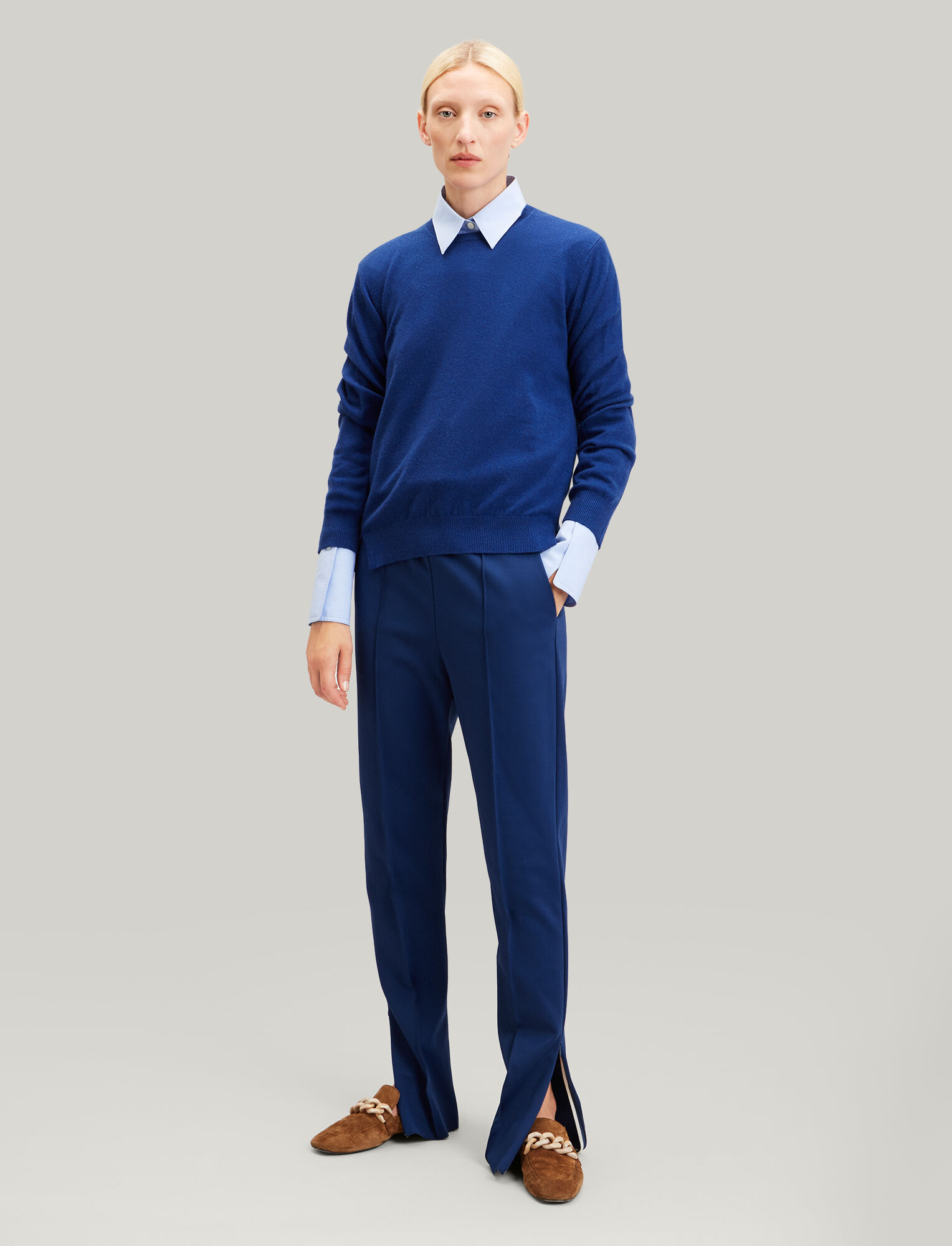 Joseph, Jog Technical Jersey Trousers, in ROYAL BLUE