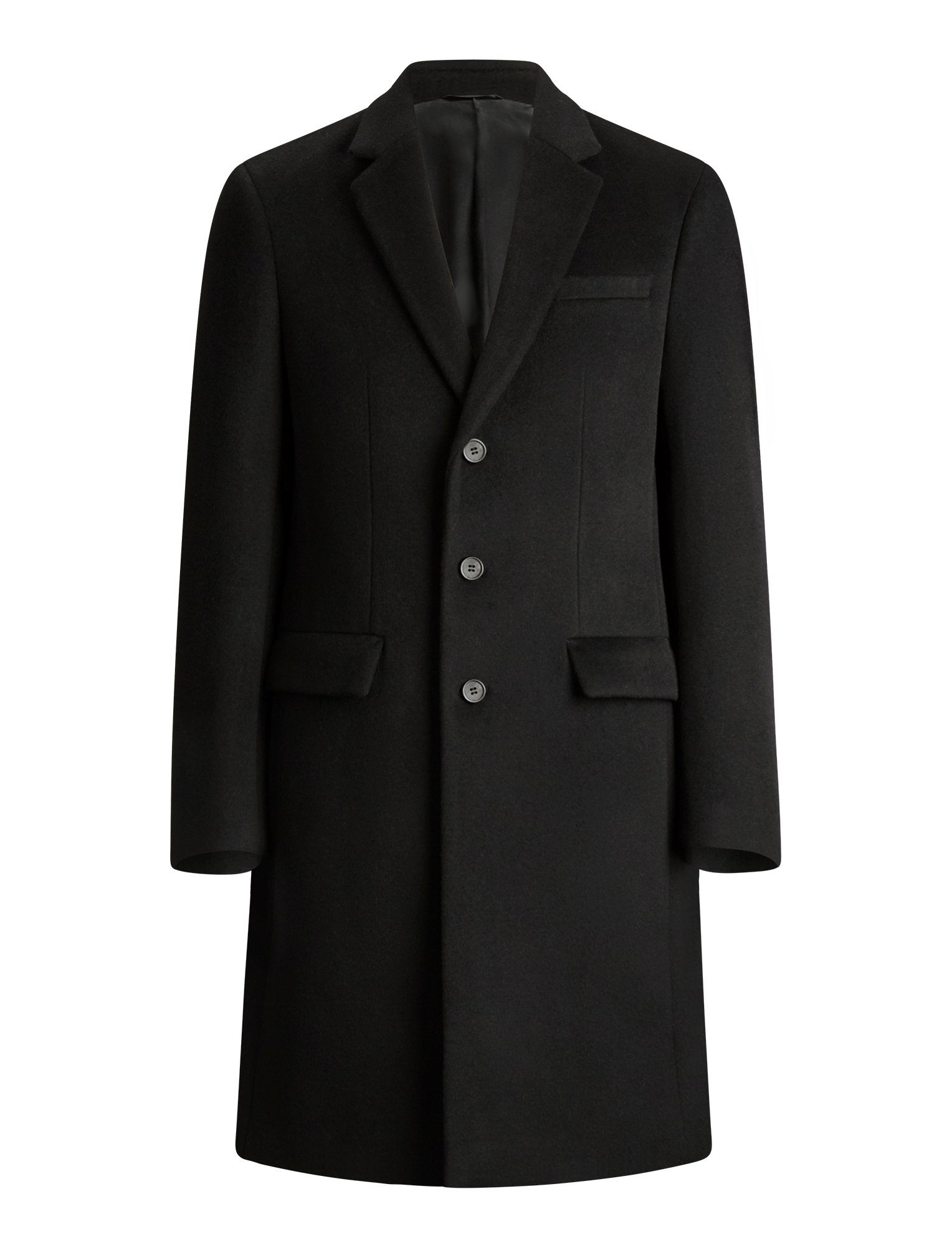 Joseph, London Wool Coat, in BLACK