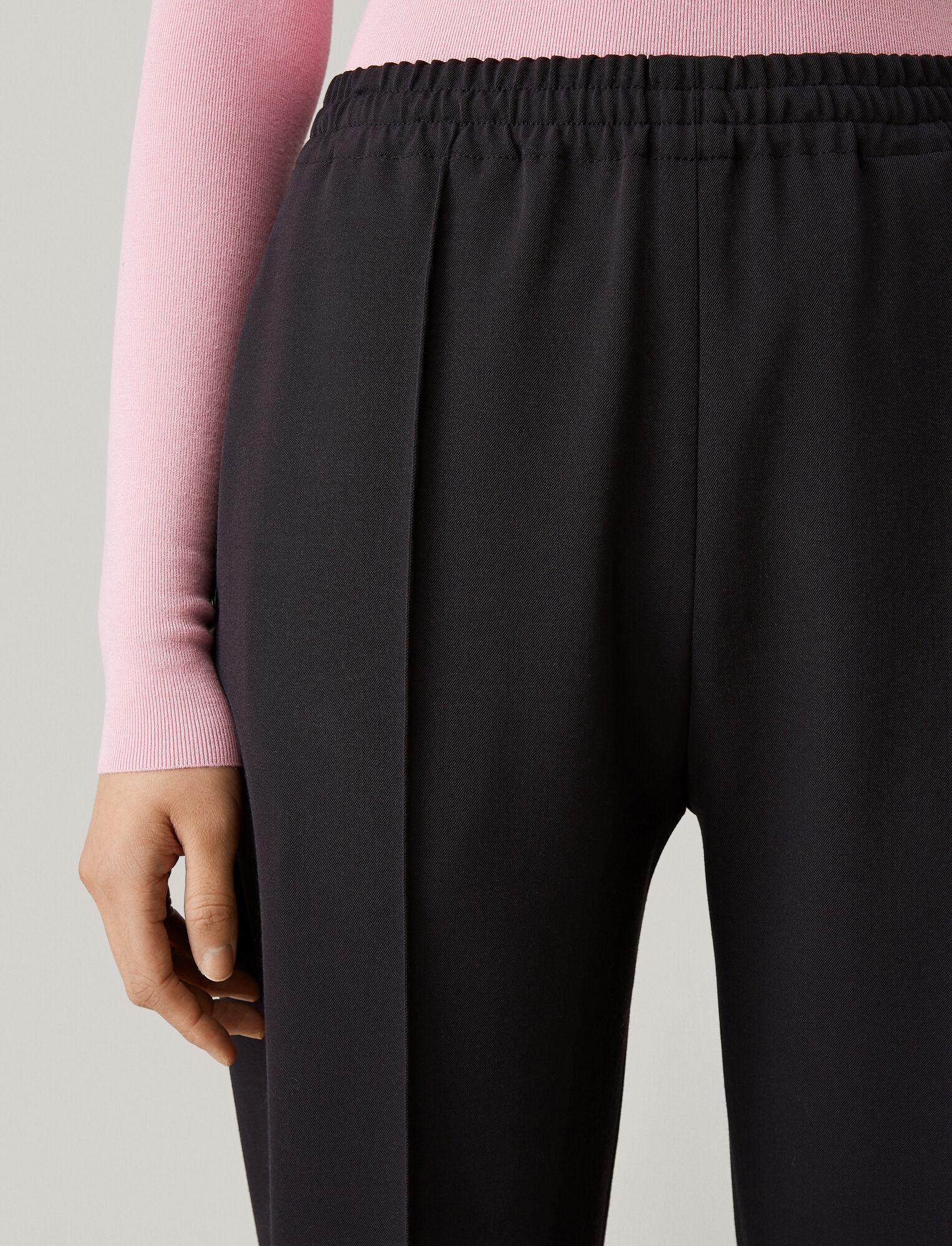 Joseph, Dalton Comfort Wool Trousers, in NAVY