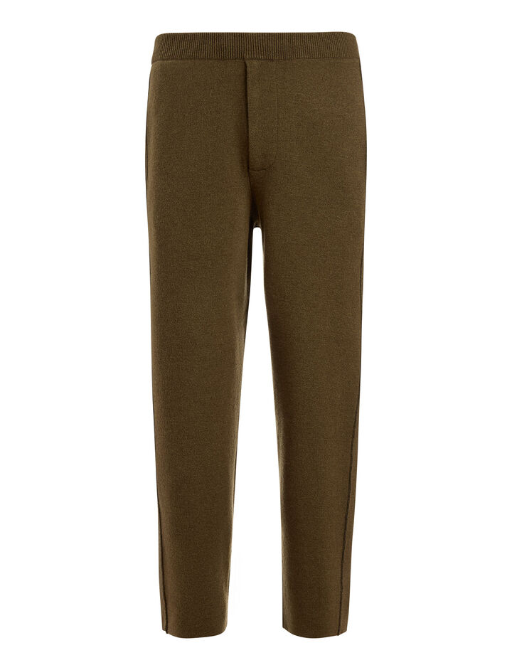 Joseph, Double Knit Joggers, in MILITARY