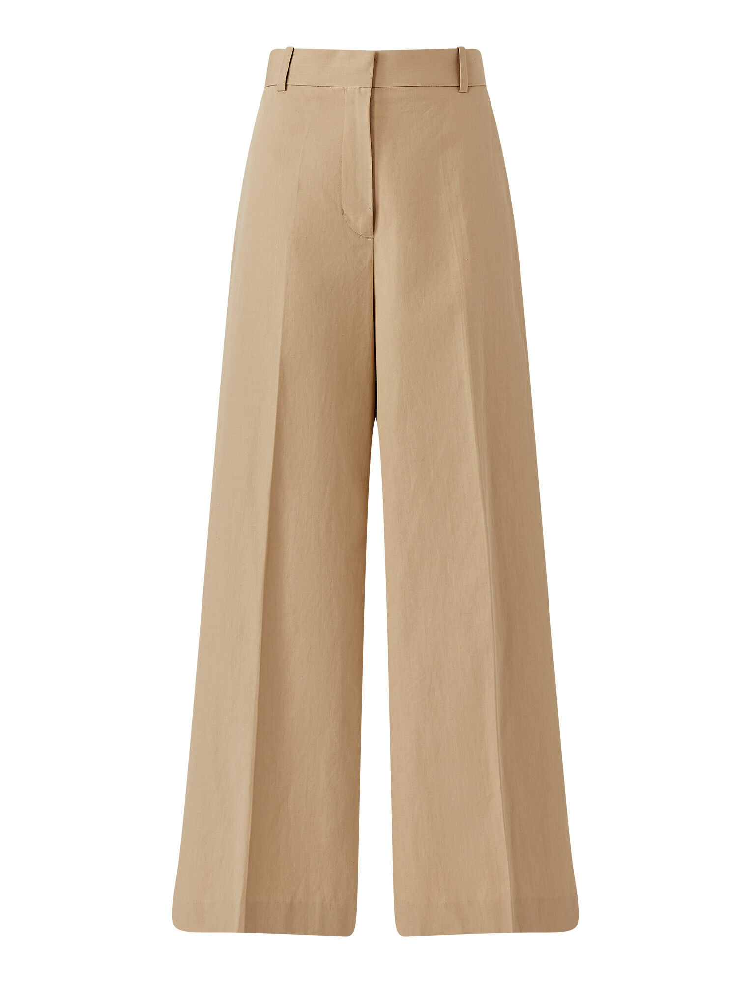 Joseph, Cotton Linen Talan Trousers, in LINEN