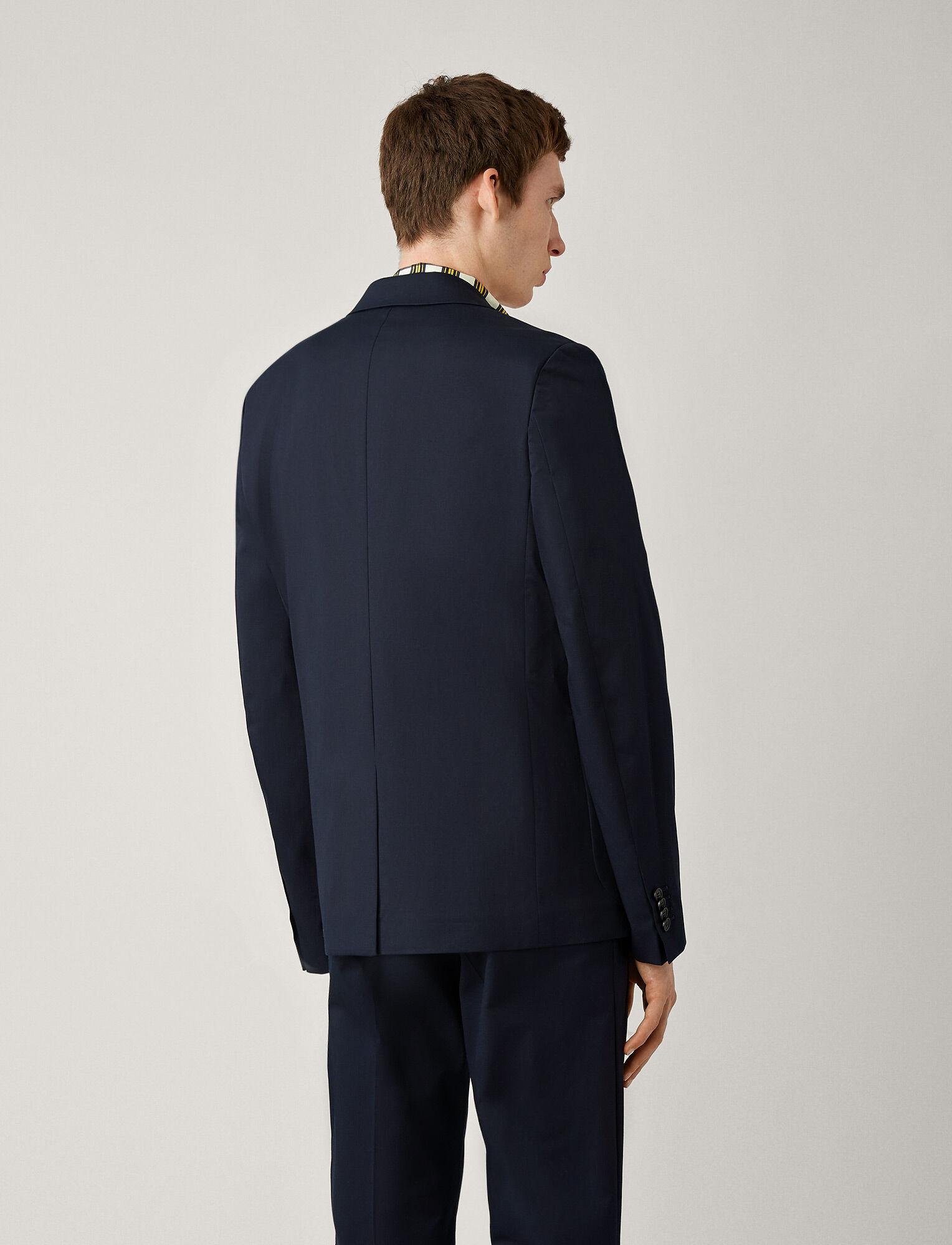 Joseph, Cassis Fine Gabardine Stretch Jacket, in NAVY