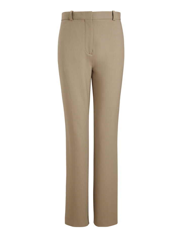 Joseph, Zoom Comfort Wool Trousers, in LIGHT ARMY