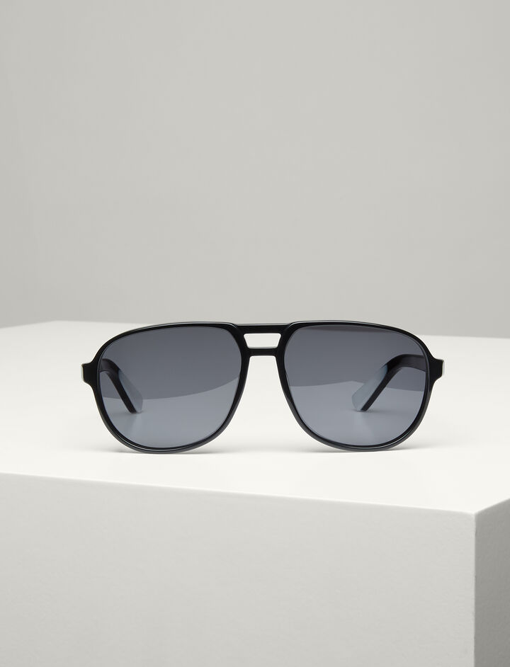 Joseph, Brompton Sunglasses, in BLACK