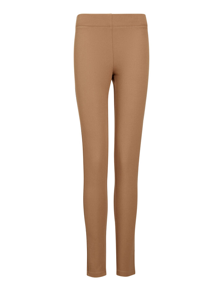 Joseph, Gabardine Stretch Legging, in COFFEE
