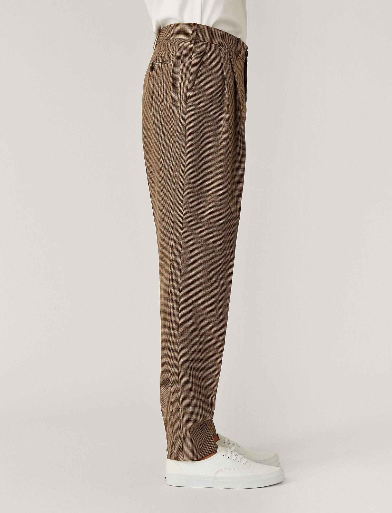 Joseph, Pantalon Covert Gun Club, in Beige
