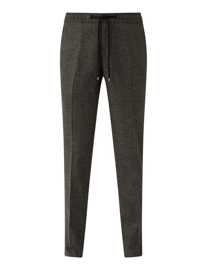 Joseph, Saxony Stretch Trousers Trousers, in Grey