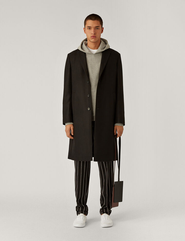 Joseph, Pure Cashmere Coat Coats, in Black