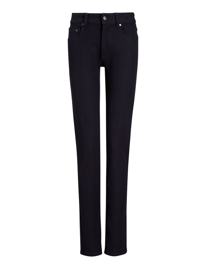 Joseph, Cloud Gabardine Stretch Trousers, in NAVY