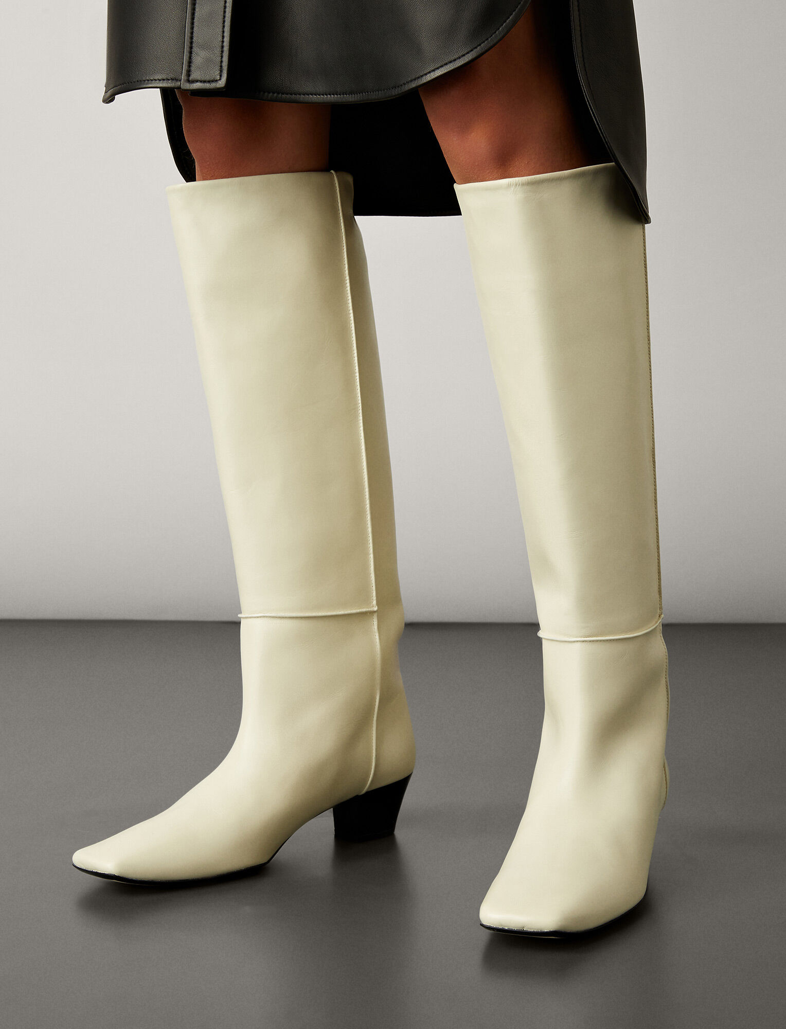 Joseph, Cynthia Long Boot, in WHITE