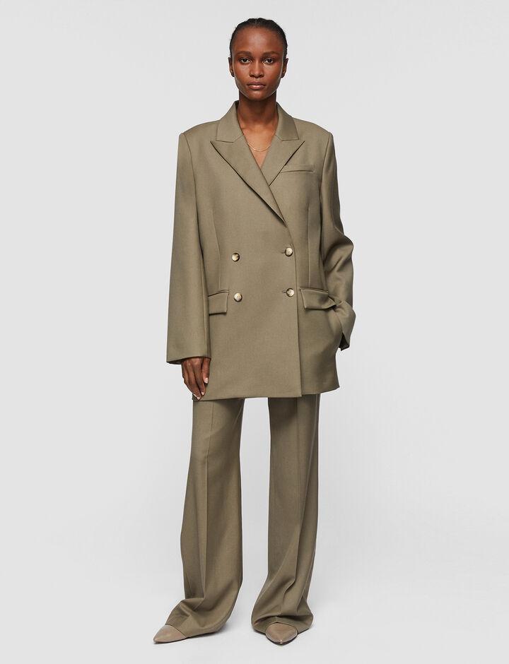 Joseph, Tailoring Wool Joni Jacket, in ELM