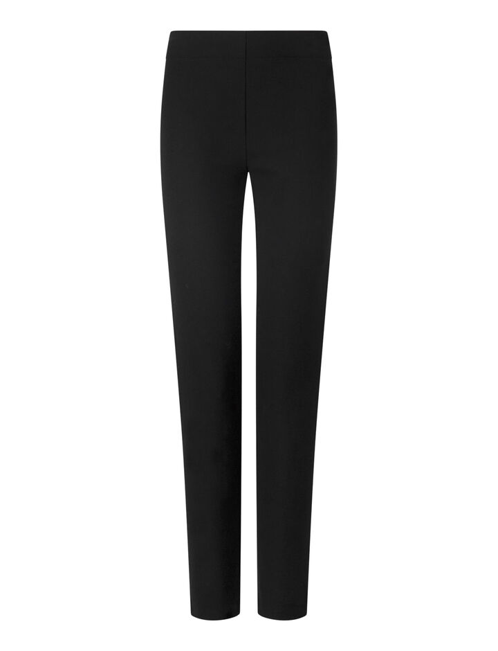 Joseph, Legging en gabardine stretch, in BLACK