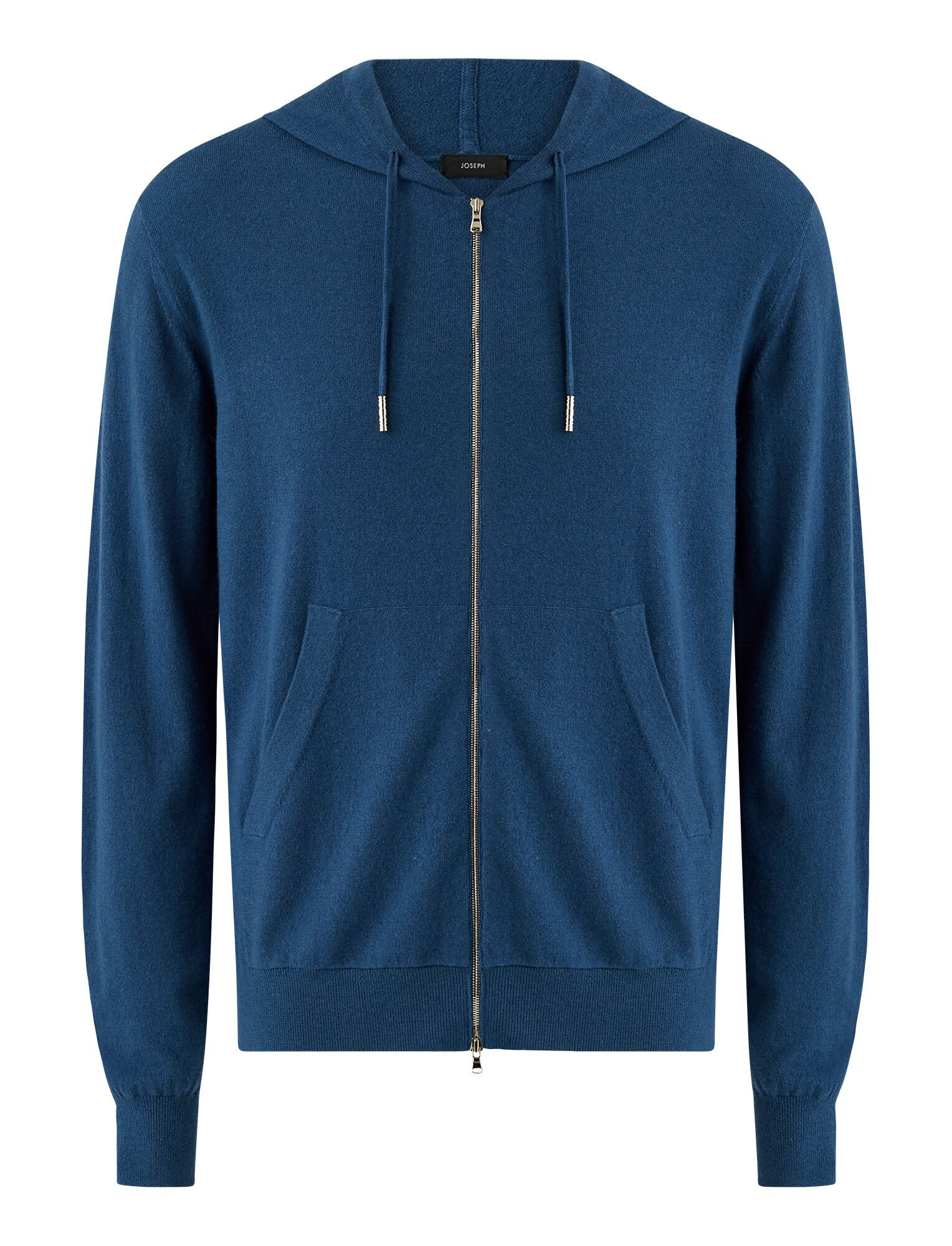 Joseph, Hoodie Cashmere Knit, in Blue