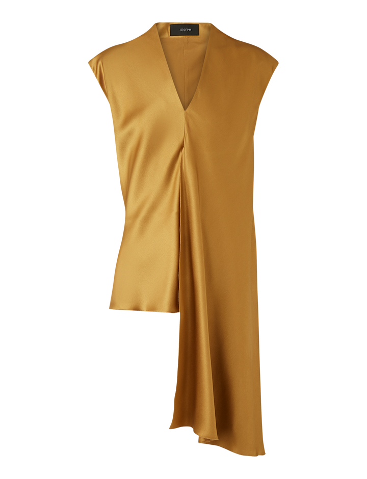 Joseph, Ewyn Satin Double Face Blouse, in HAZEL