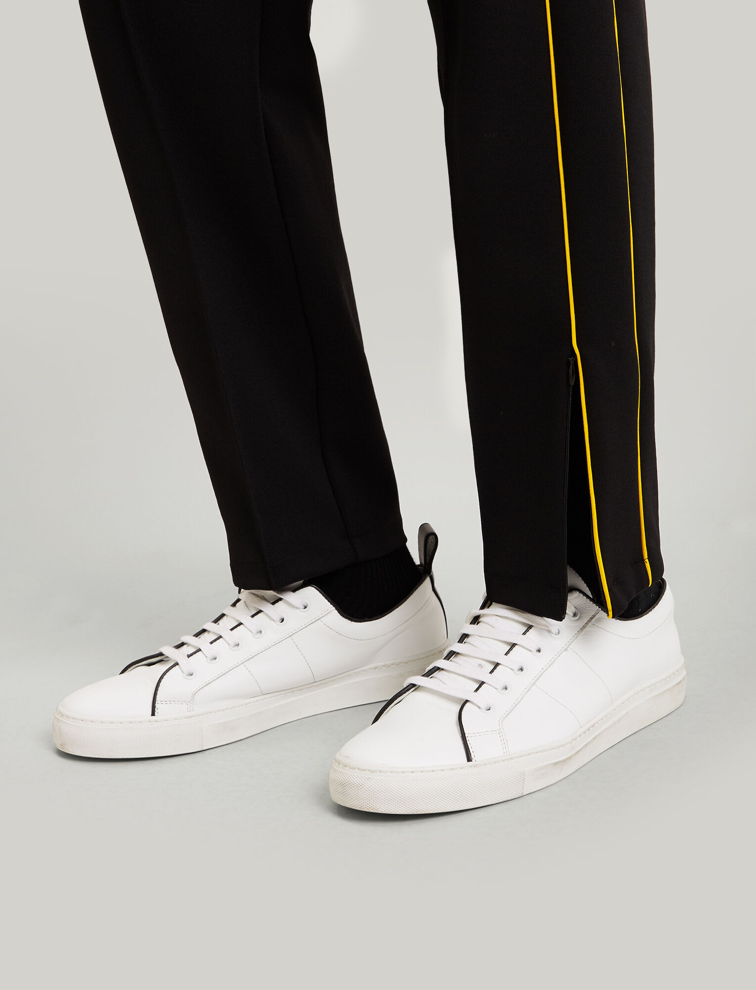 Joseph, Trackpants Technical Jersey, in BLACK