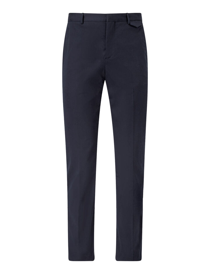 Joseph, Emmanuel-Fine Gabardine Stretch, in NAVY