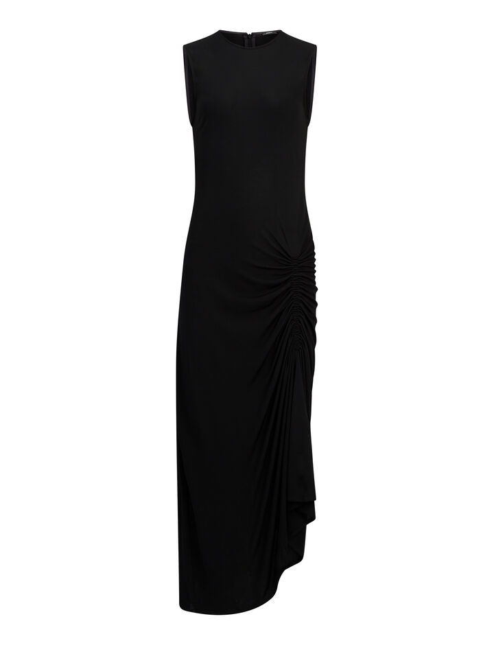 Joseph, Ladie Crepe Jersey Dress, in BLACK