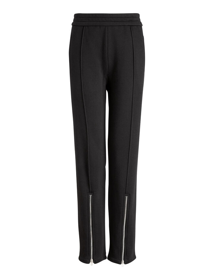 Joseph, Zip Trackpants, in BLACK