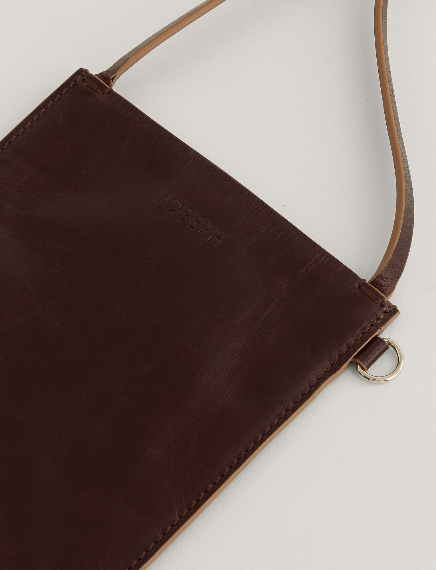 Joseph, Pocket Bag, in CHESTNUT