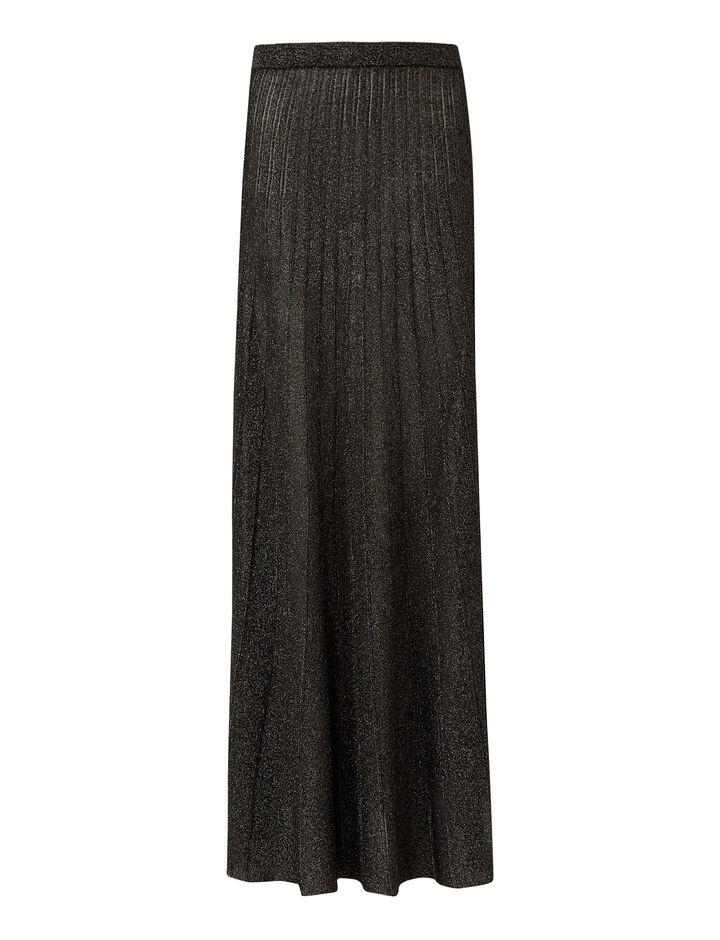 Joseph, Lurex Skirt, in BLACK