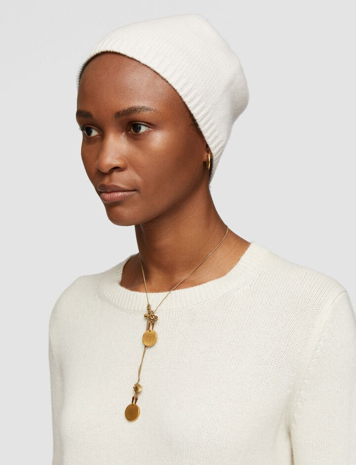 Joseph, Luxe Cashmere Hat, in Papyrus