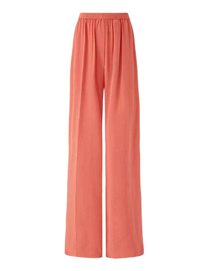 Joseph, Taffy Cdc Trousers, in Peony