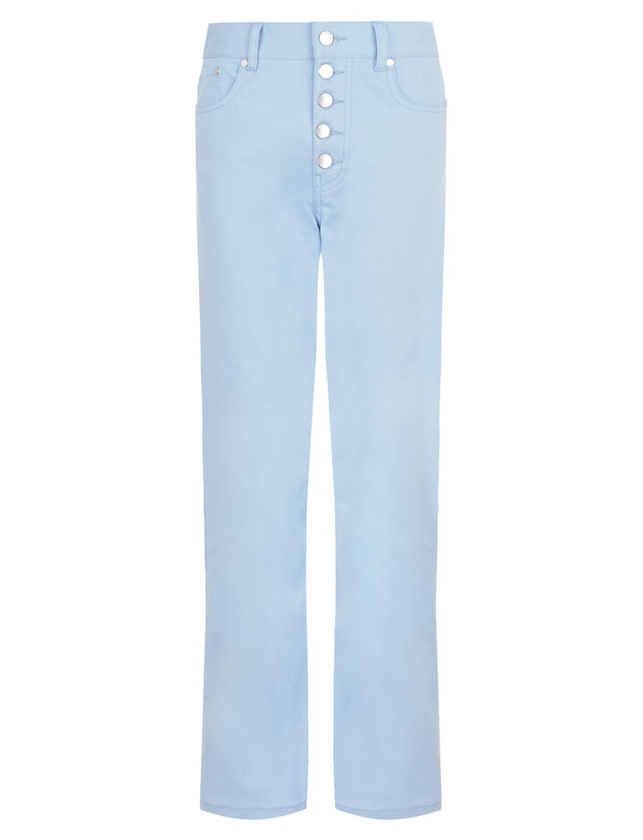 Joseph, Den Drill Stretch Trousers, in PERIWINKLE