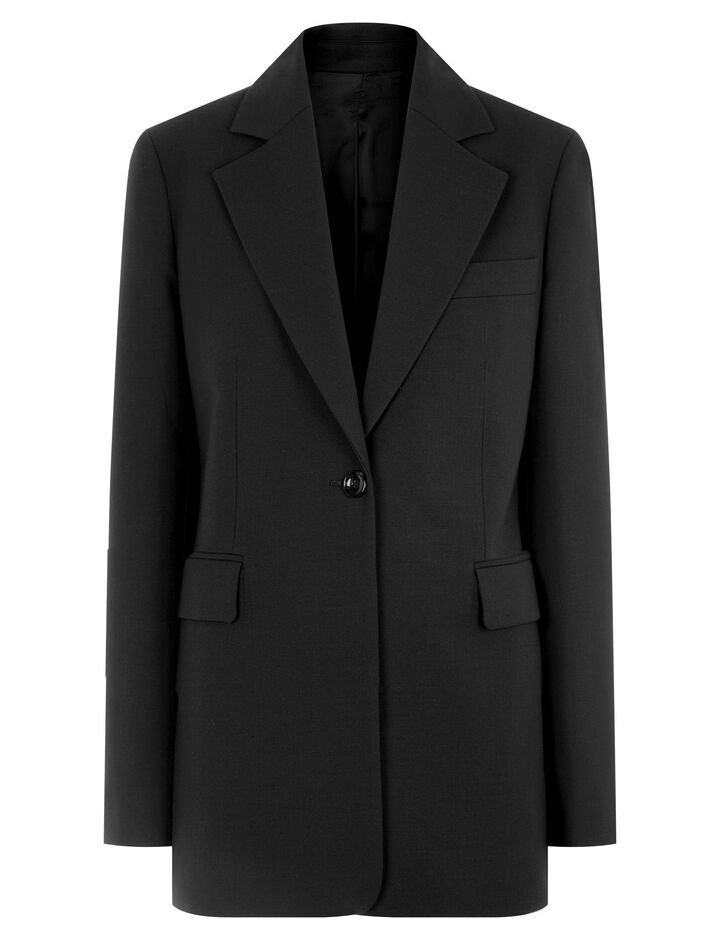Joseph, Lorenzo Comfort Wool Jacket, in BLACK