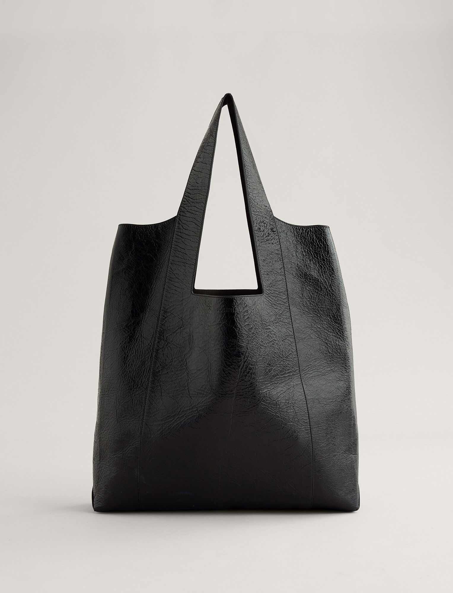 Joseph, Westbourne Leather Bag, in BLACK