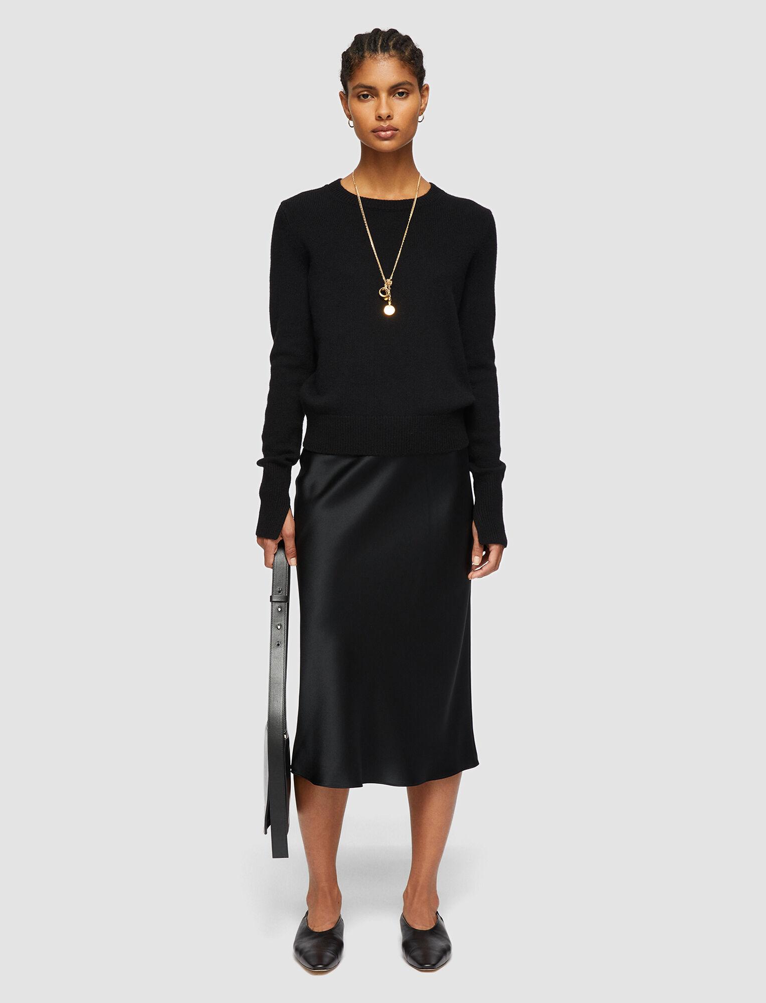 Joseph, Pure Cashmere Knit, in BLACK