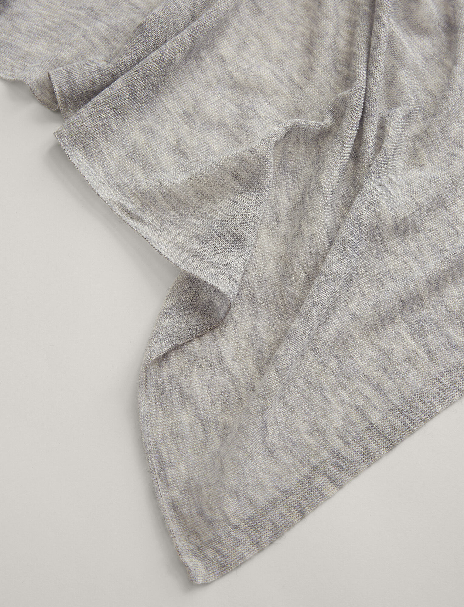 Joseph, Large Cashair Scarf, in GREY CHINE