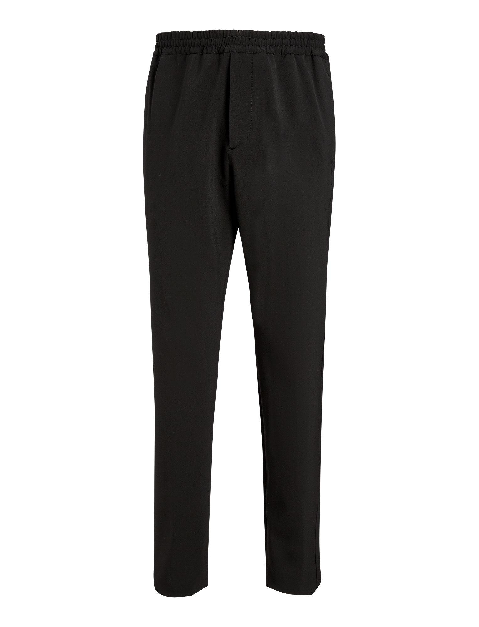 Joseph, Ettrick Techno Wool Stretch Trousers, in BLACK