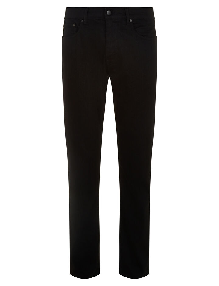 Joseph, Guillermo Noir Denim Trousers, in BLACK