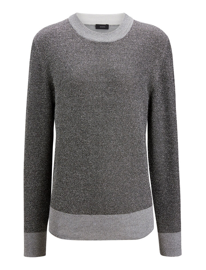Joseph, Lurex Knit, in GREY