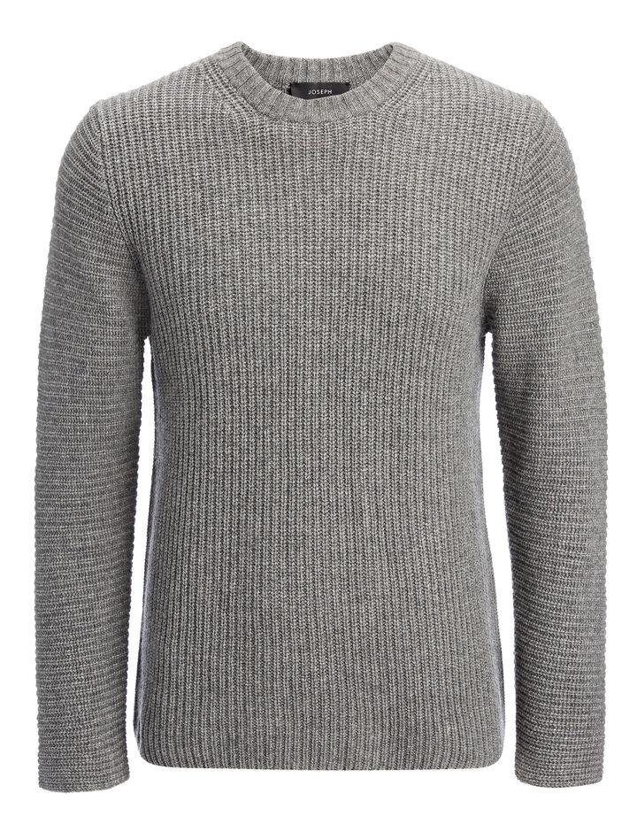 Joseph, Cardigan Cashmere Sweater, in GRAPHITE